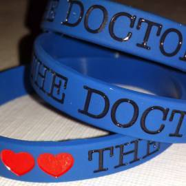 Silicone Bracelet: I Love The Doctor