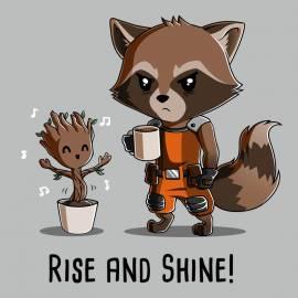 Groot and Rocket Raccoon