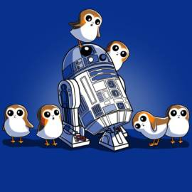 R2-D2 and Porgs