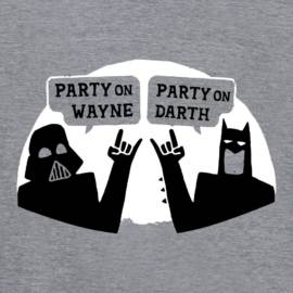 Party On Wayne, Party On Darth Limited Edition Tri-Blend