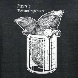 Two Moles Per Liter Limited Edition Tri-Blend