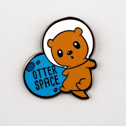 Otter Space Pin