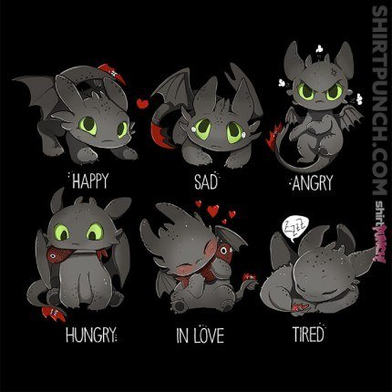 Today Toothless Feels…