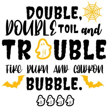 Double Trouble Bubble