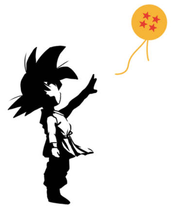 Goku and the sphere