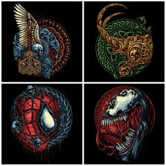 Entire Infinity Skull Collection